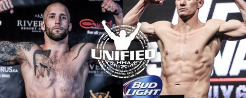 ASH BATTLES UFC VET BACZYNSKI FOR MIDDLEWEIGHT BELT AT UNIFIED 34