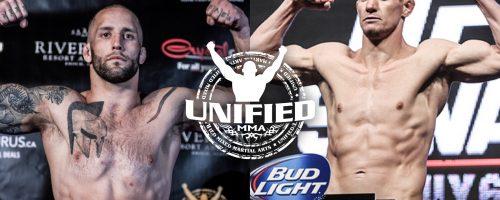 ASH BATTLES UFC VET BACZYNSKI FOR MIDDLEWEIGHT BELT AT UNIFIED 34