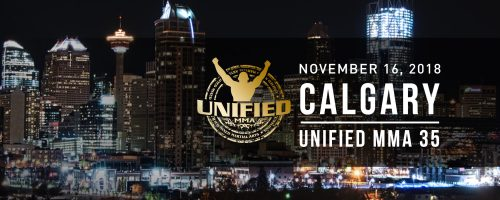 UNIFIED COMING TO CALGARY, DEBUT SET WITH UNIFIED 35 ON NOV. 16