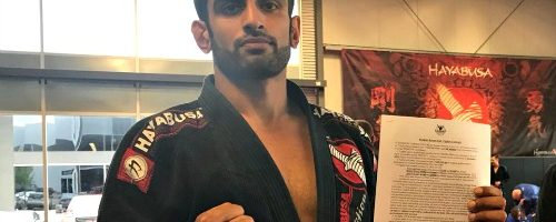 UNBEATEN KB BHULLAR SIGNS WITH UNIFIED MMA